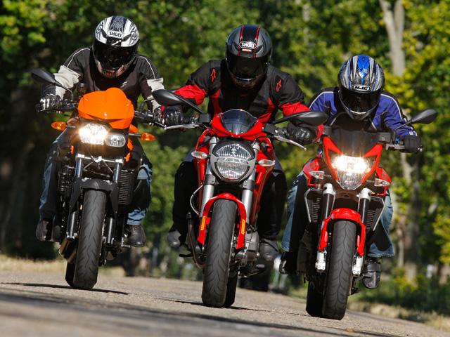 Comparativa motos naked medias de 800 cc