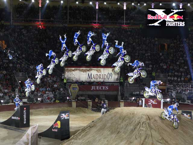 Con Action Team ahorra 5 euros en el Red Bull X Figthers