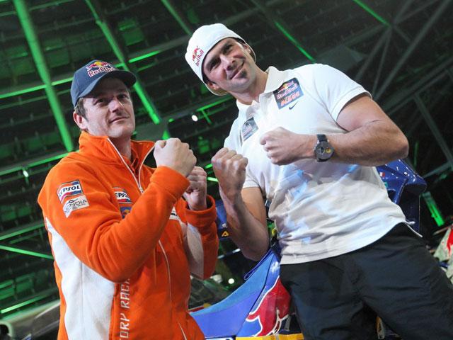 Marc Coma y Cyril Despres continúan en KTM