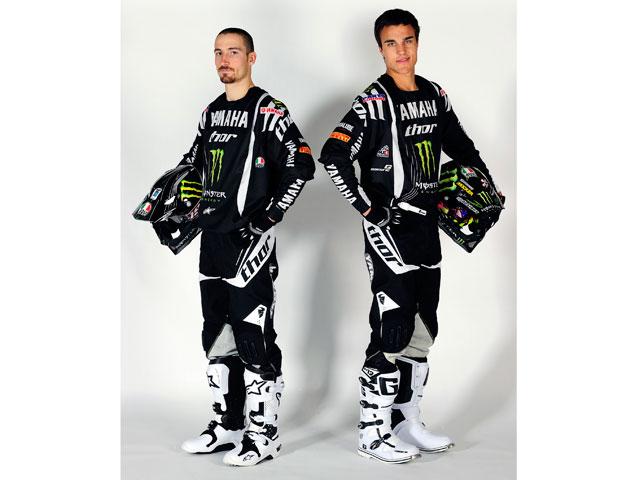 David Philippaerts y Gautier Paulin, pilotos Yamaha en el Mundial MX 2011