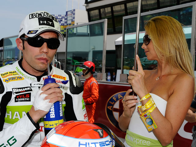 Michele Pirro se pierde la carrera de Silverstone