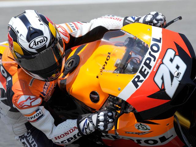 Pedrosa, Márquez y Corsi, los más rápidos en los libres del GP de Alemania
