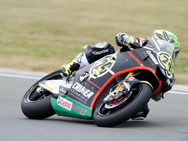 Elías, Iannone y Rolfo, podio de Moto2 en Alemania