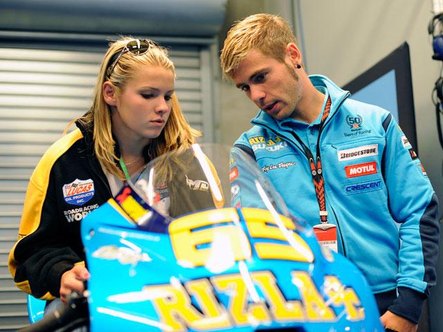 Elena Myers rodará con la Suzuki de MotoGP en Valencia