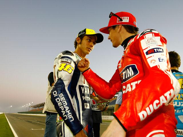 Ducati desmiente el fichaje de Valentino Rossi