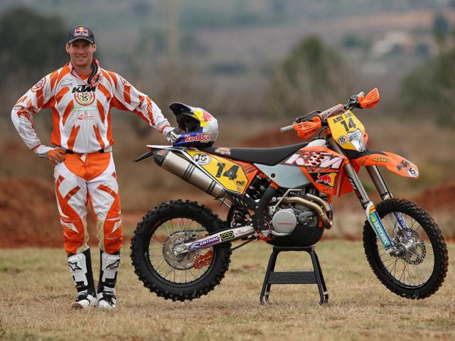 David Knight, dos años más con KTM