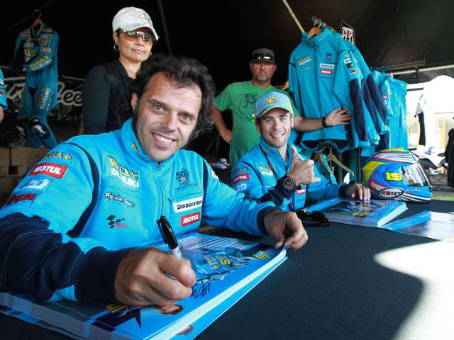 Loris Capirossi ve bien el fichaje de Valentino Rossi con Ducati