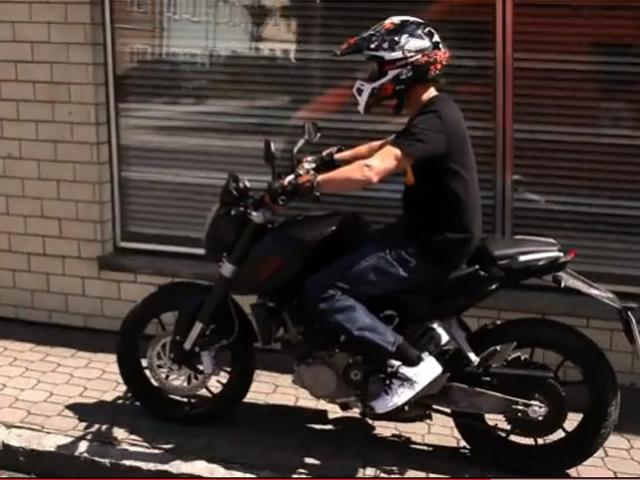 Primer vídeo de la KTM 125 naked