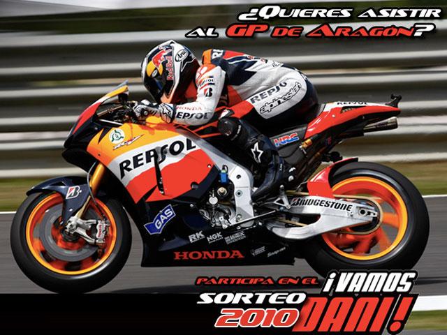 Vive el GP de Aragón con Honda