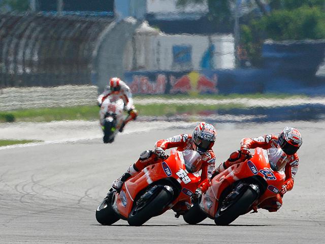 Fotos de la carrera de MotoGP del GP de Indianápolis