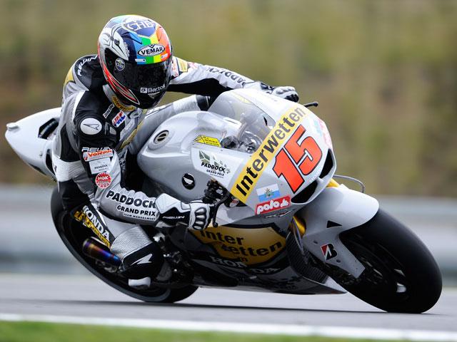 Alex De Angelis, el más rápido en los primeros libres de Moto2