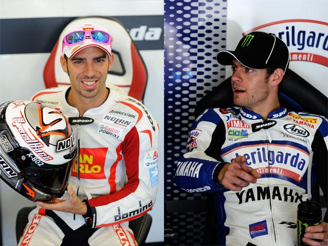 Cal Crutchlow, a MotoGP; Marco Melandri a SBK