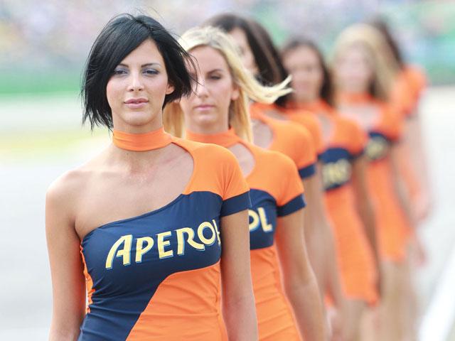 Las chicas del GP de San Marino