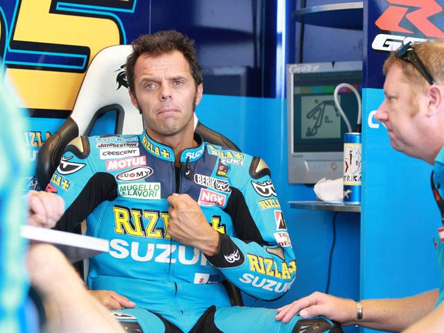 Loris Capirossi, duda para el Gran Premio de Aragón