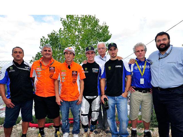 Antonio Cairoli y David Philippaerts correrán el MXoN