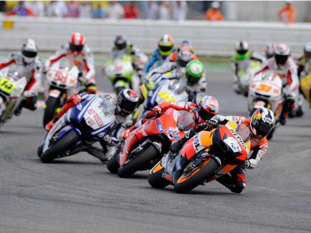 Los horarios del Gran Premio de Aragón