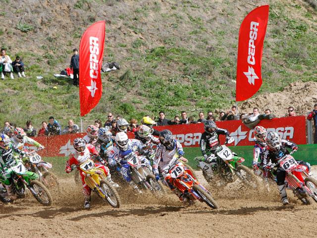 Nacional de Motocross en Malpartida de Cáceres