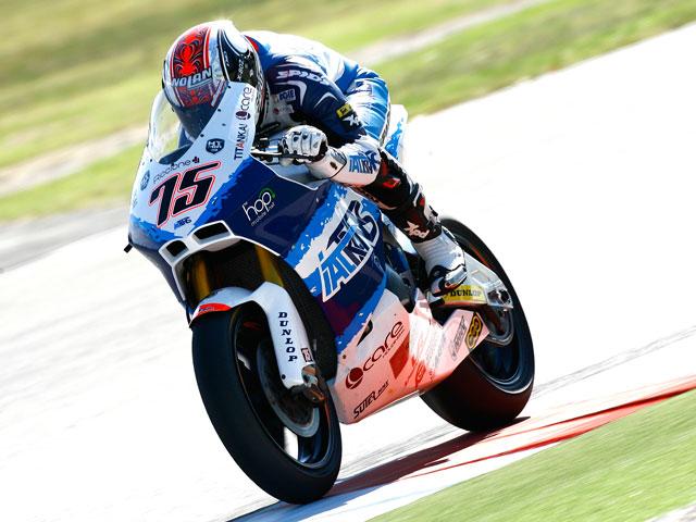 Mattia Pasini lidera la segunda sesión de entrenamientos de Moto2