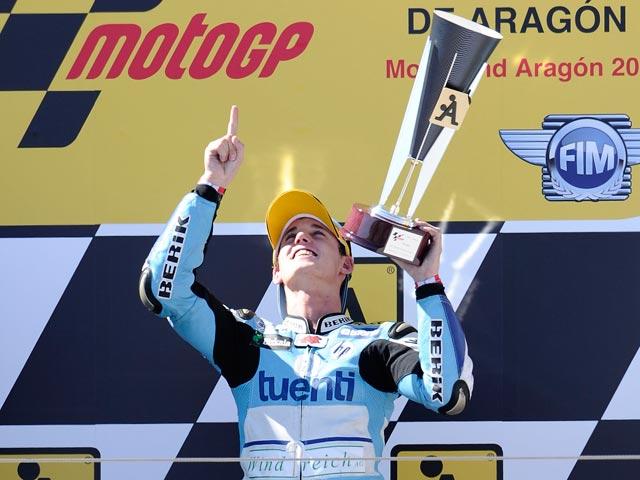 Pol Espargaró, mejor tiempo en los segundos libres del GP de Aragón