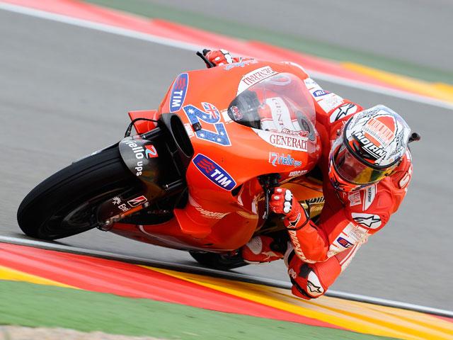 Stoner, Iannone y Márquez los más rápidos en MotorLand