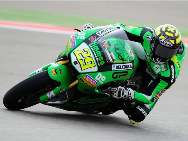 Andrea Iannone, inalcanzable en MotorLand Aragón