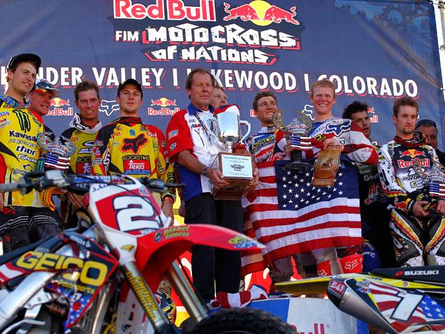 Victoria de Estados Unidos en el Motocross de las Naciones