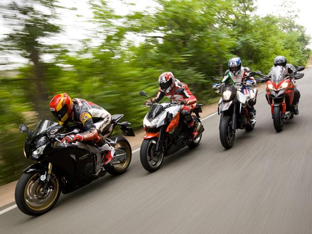 Motos deportivas para todos los gustos