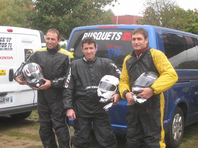 Los hermanos Busquets en el Rally Dark Dog Moto Tour