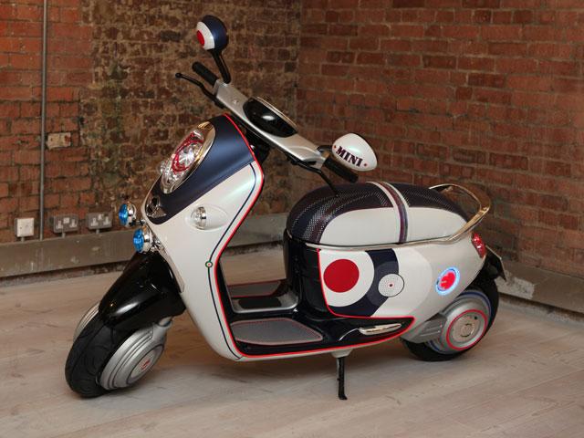 Nuevas fotos del scooter de Mini