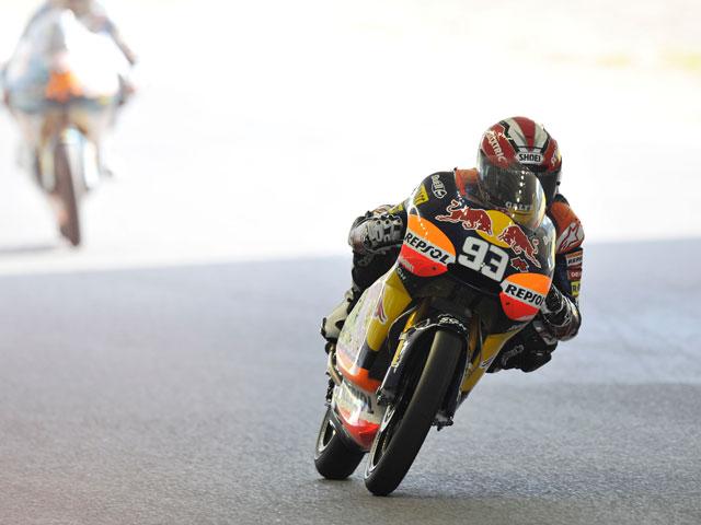Marc Márquez vuelve a lo más alto del podio de 125 cc en Japón