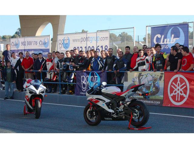 Pont Grup invitó a 20 personas a rodar en el Circuito de Jerez