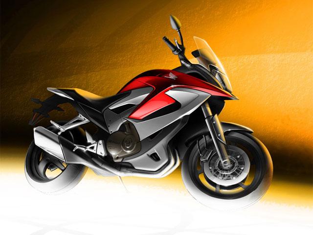 """Nueva imagen de la Honda """"crossover"""" con motor V4"""