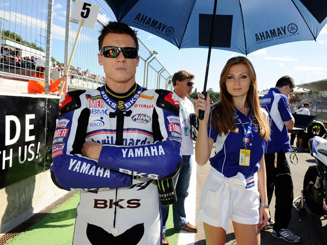 James Toseland, con BMW en el Mundial de Superbike