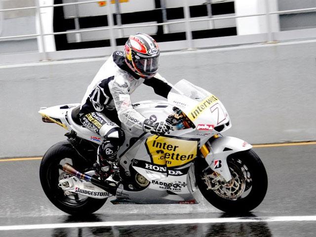 La lluvia, protagonista de los entrenamientos de Moto2 y MotoGP