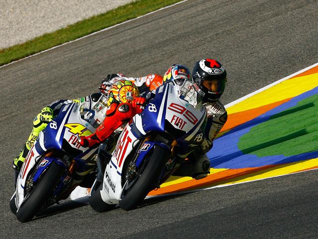 Lorenzo logra la pole virtual en los libres del viernes del GP de Valencia