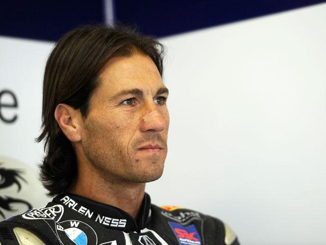 Rubén Xaus, en el Ten Kate Honda de Superbike