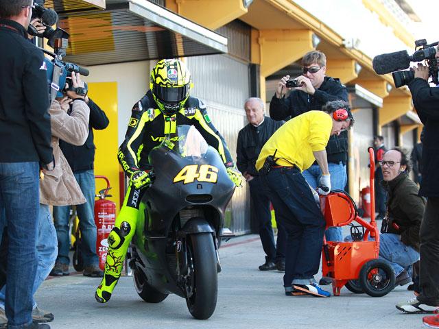 Primeros pasos del Mundial de MotoGP 2011
