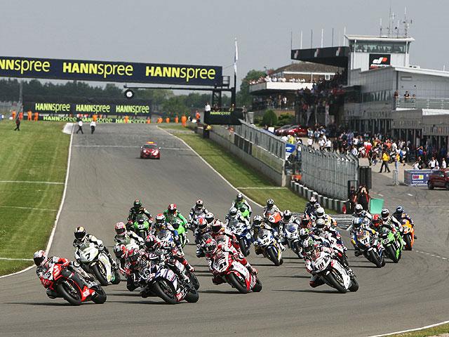 El Mundial de Superbike vuelve a Donington Park por tres temporadas