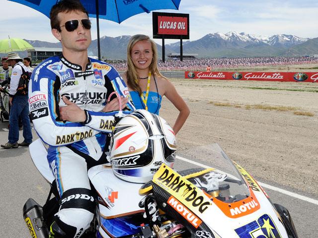 Sylvain Guintoli, con Ducati en el Mundial de Superbike 2011
