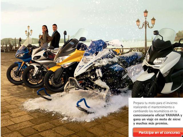 Operación invierno de Yamaha