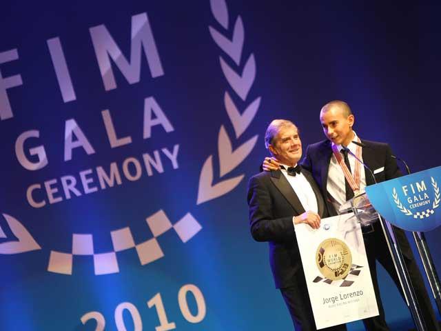 Ceremonia de entrega de los premios FIM 2010
