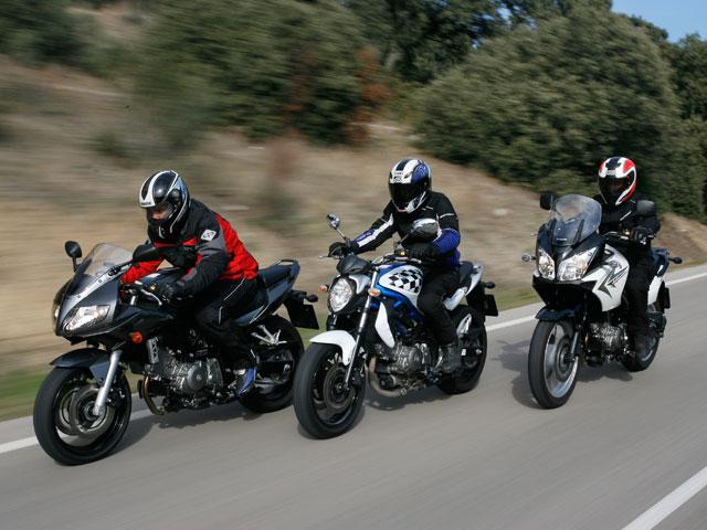 Comparativa Suzuki V2 650cc