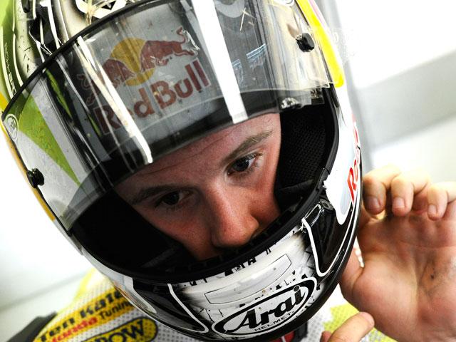 Jonathan Rea, en Sepang con la moto de Casey Stoner