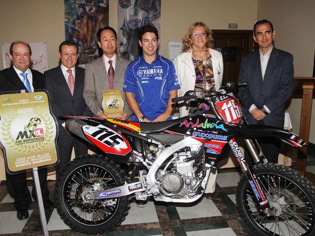 Carlos Campano correrá el Mundial de MX1