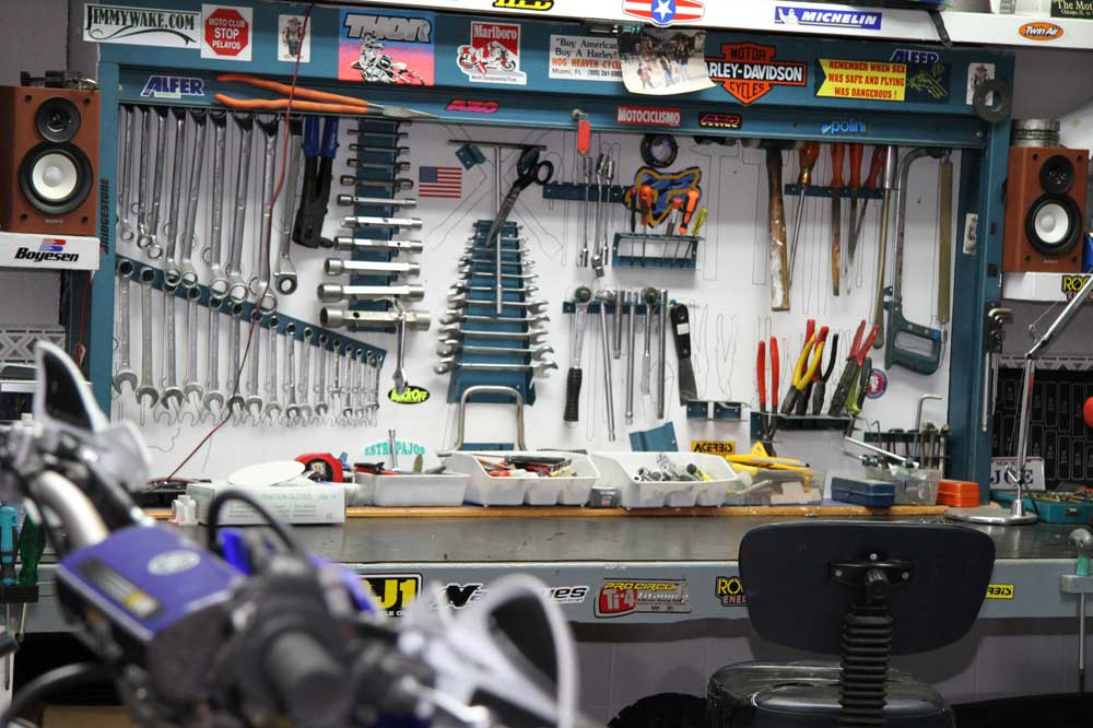 Qué herramientas tener en el garaje de casa