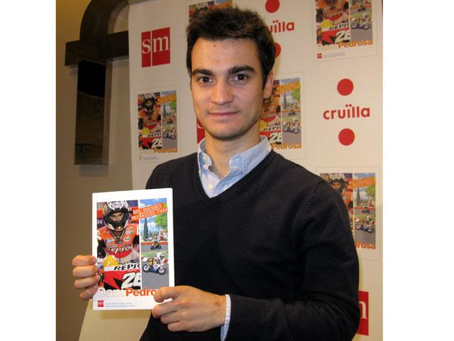 Dani Pedrosa presenta un libro infantil