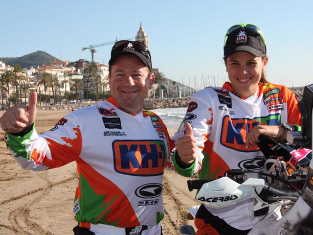Los pilotos españoles en el Dakar 2011