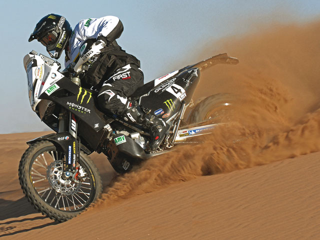 David Fretigne no participará en el Dakar 2011