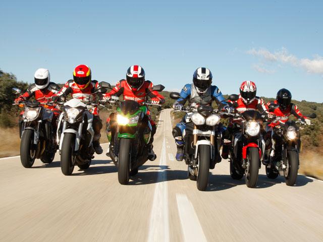 Comparativa Big Naked: Honda, Kawasaki, KTM, MV Agusta, Triumph y Yamaha
