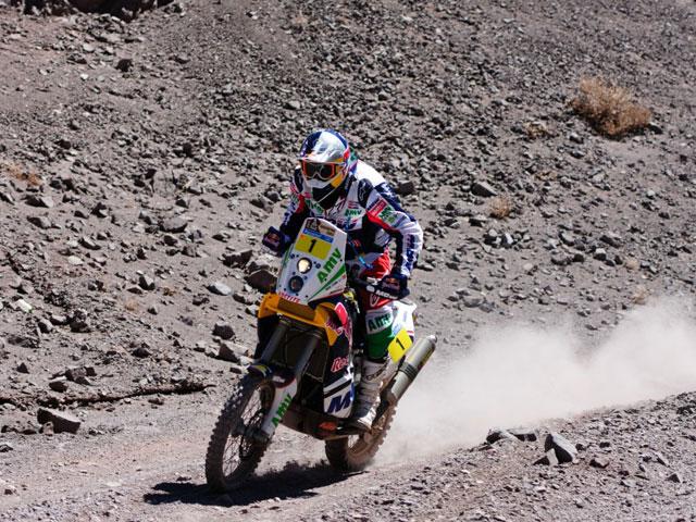 Marc Coma continúa líder del Dakar